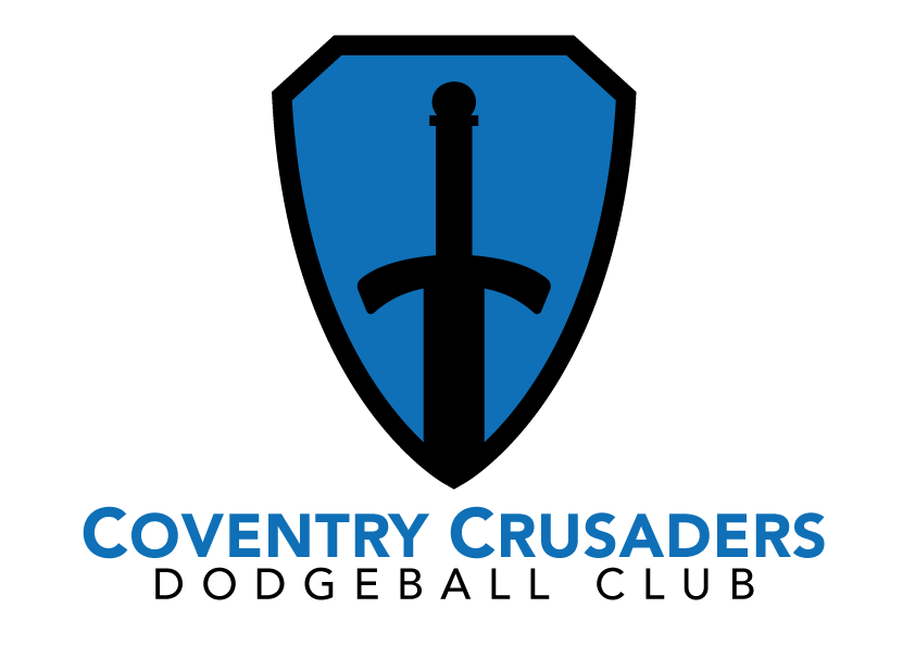 Coventry-Crusaders-Dodgeball-Club-logo-design-WEB