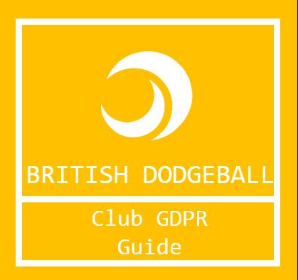 Club GDPR Guide