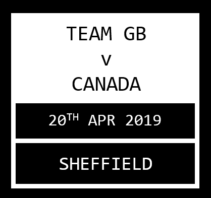 Team GB v Canada