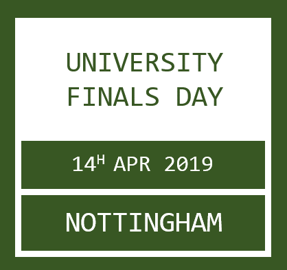 University Finals Day