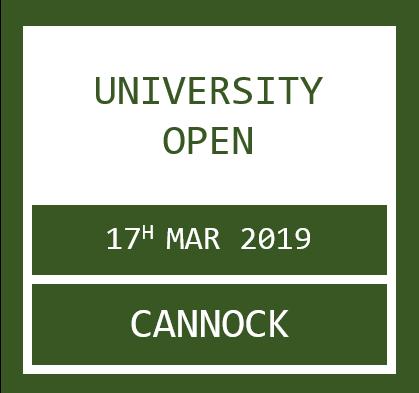 Uni Open Cannock