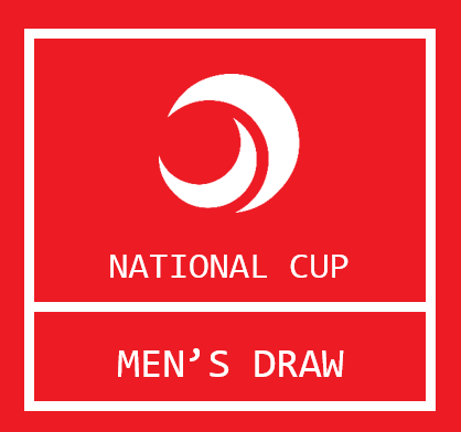 National Cup Men's Draw
