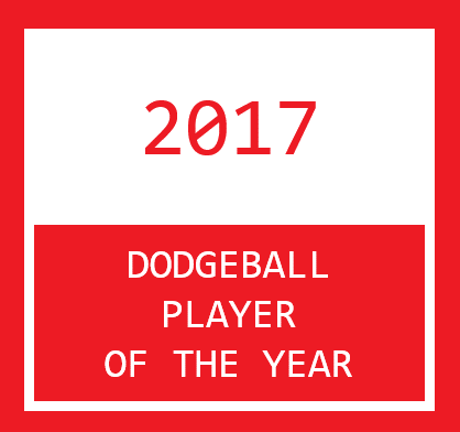 2017 Dodgeballer of the Year