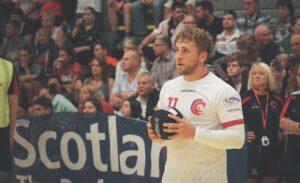 British Dodgeball Club Development Activator Aden Woodall
