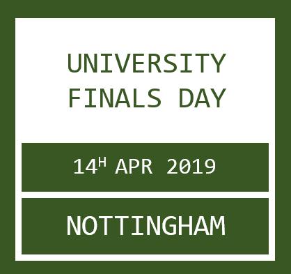 University Finals Day
